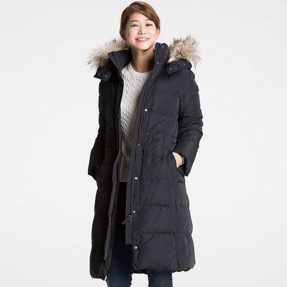 1fa1db6601e NAVY Uniqlo Women's Ultra Warm Down Coat XS. M_5bf60aedaa57191bcebe9897